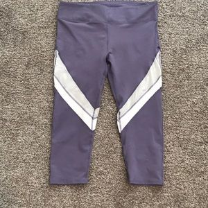 Fabletics Purple Leggings - Large